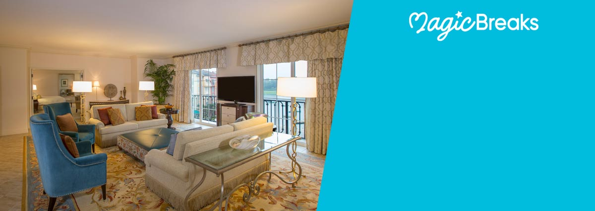 MagicBreaks Club Rooms & Suites special offer carousel banner