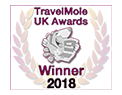 Travelmole 2018 winner award