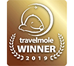 Travelmole 2019 winner award
