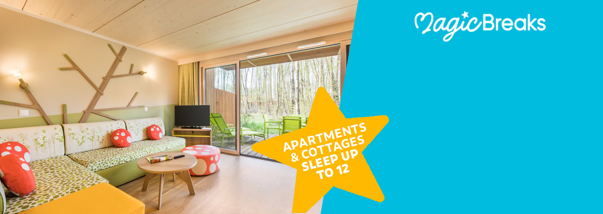 MagicBreaks Amazing accommodation special offer carousel banner