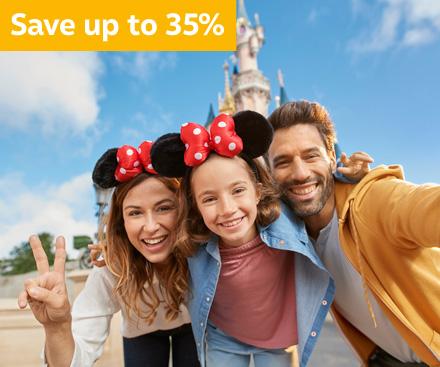 Disneyland® Paris Winter Savings - save up to 35%