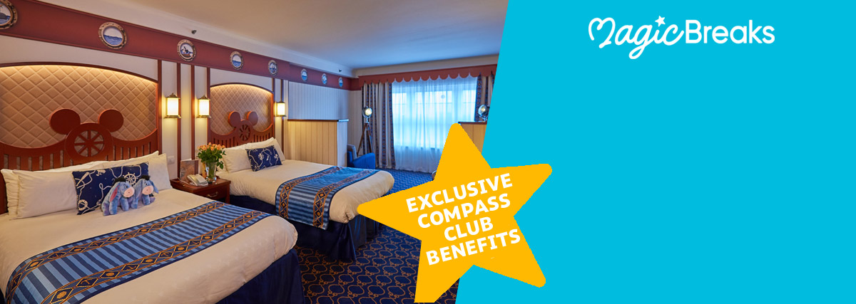 MagicBreaks Compass Club Rooms special offer carousel banner