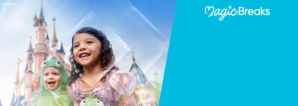 MagicBreaks Summer 2022 at Disneyland® Paris special offer carousel banner