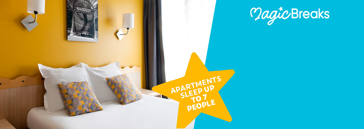 MagicBreaks Self-catering apartments special offer carousel banner