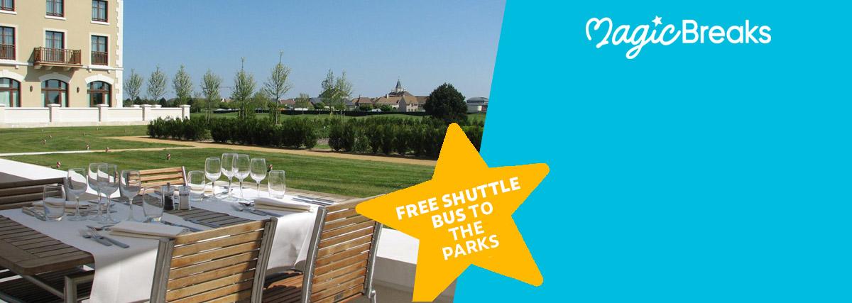 MagicBreaks Free shuttle bus special offer carousel banner