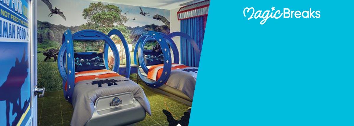 MagicBreaks Jurassic World Suites special offer carousel banner