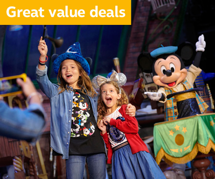 Disneyland® Paris School Holiday Offers