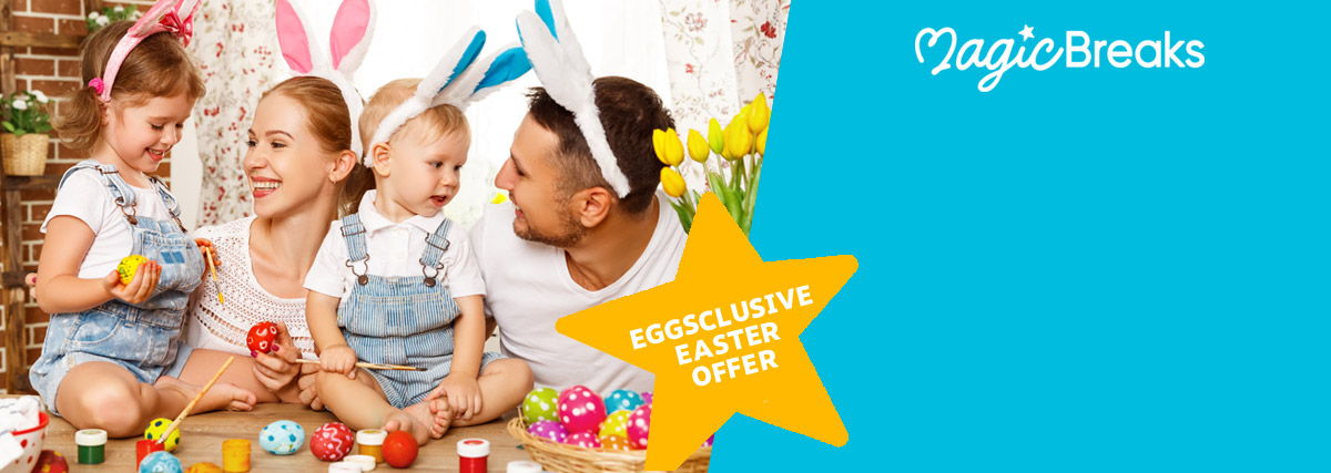 MagicBreaks Eggsclusive Easter Offer! special offer carousel banner