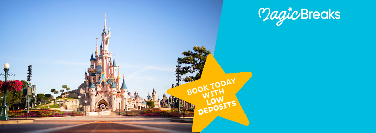 MagicBreaks Disneyland® Paris on sale up to March 2022! special offer carousel banner