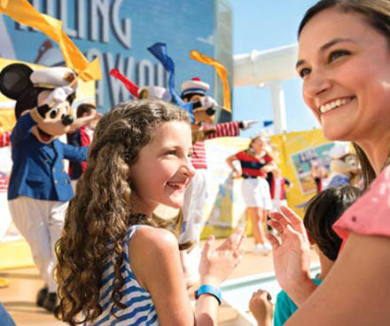 Mickey's Sail-A-Wave Deck Party!