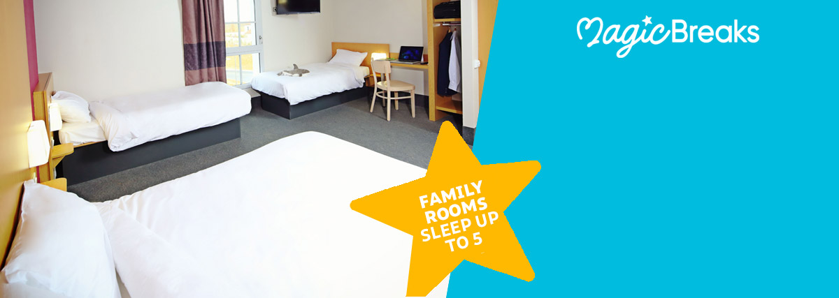 MagicBreaks Family Rooms available special offer carousel banner