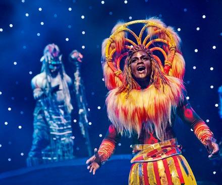 Lion King: Rhythms of the Pride Lands Show