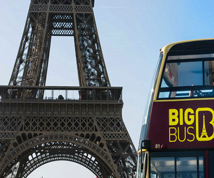 Big Bus Tour Paris