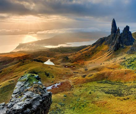 Walk the North West Highlands and Skye
