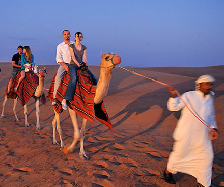 Dubai Desert 4x4 Safari - Incl BBQ Dinner