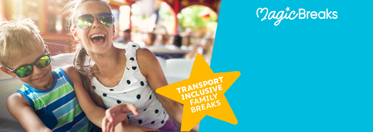 MagicBreaks Transport-inclusive Family Breaks special offer carousel banner