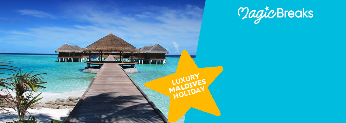 MagicBreaks Maldives Holiday special offer carousel banner