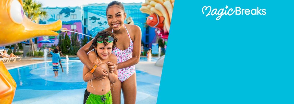 MagicBreaks Each Disney Resort Hotel special offer carousel banner