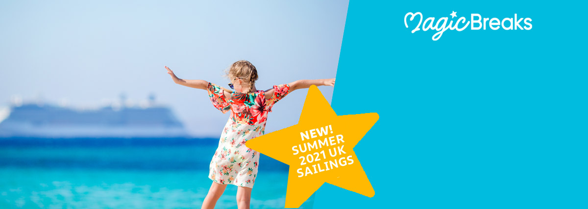 MagicBreaks NEW! Staycations at Sea special offer carousel banner