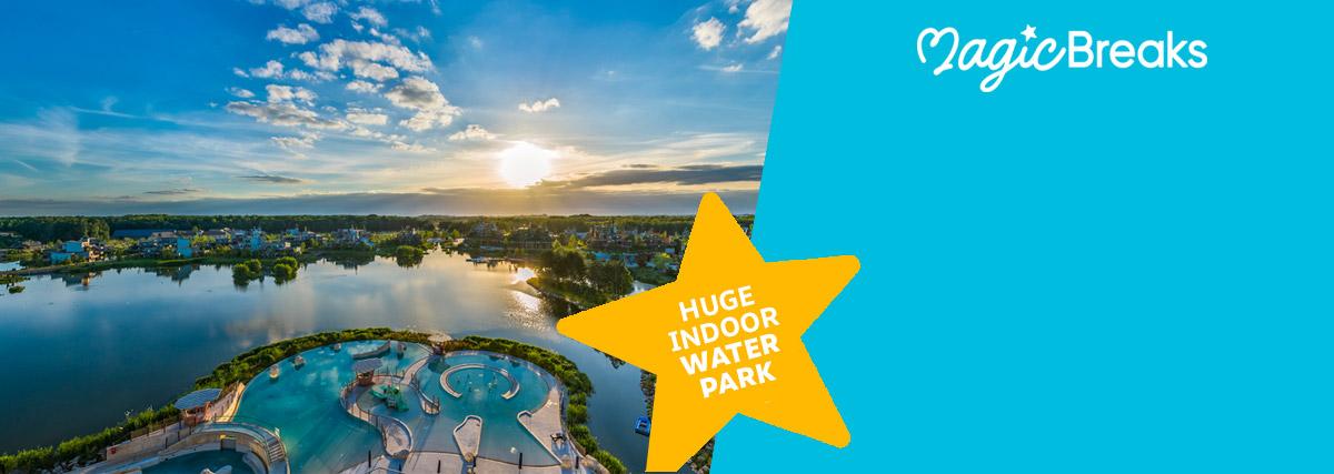 MagicBreaks Huge indoor water park special offer carousel banner